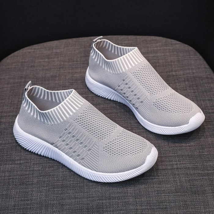 Spring New Plus Size Casual Flying Woven Sports Shoes Women Running Shoes  shoes woman  platform shoes