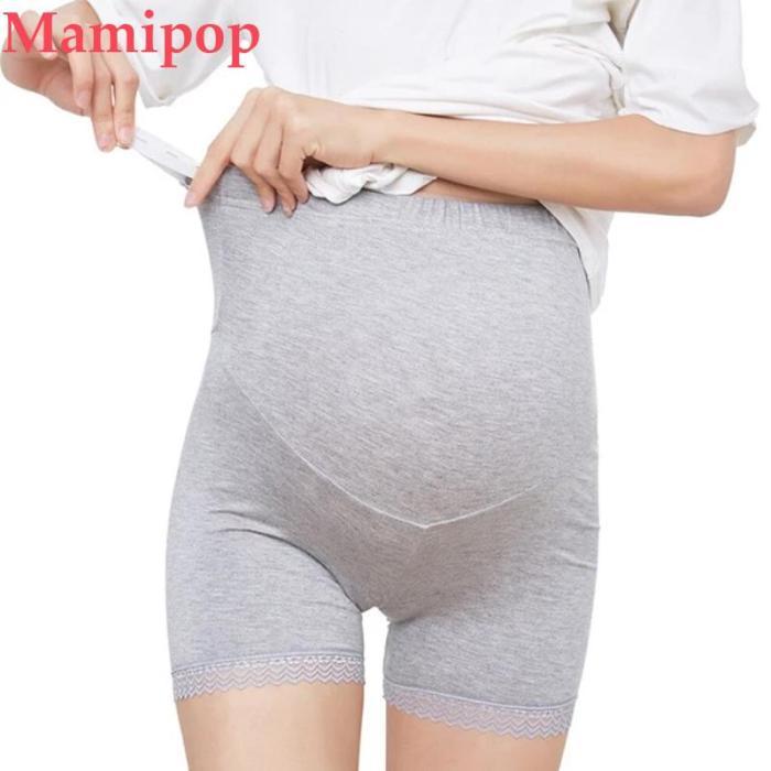 Womens Maternity Shapewear Mid-Thigh Pettipant Seamless Soft Abdomen Underwear