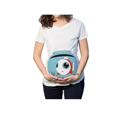 Pregnant Women's T-shirt 2020 New Watermelon Printing