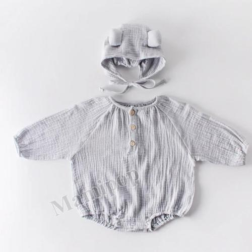 Autumn Loose Version of Brother and Sister Baby  Climbing Clothes