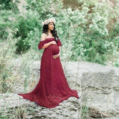 Maternity Photography Props Pregnancy Dress