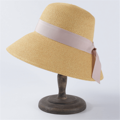 Summer Soft Ribbon Straw Hat