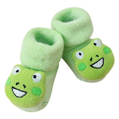 Cartoon baby girl boy socks fashion Newborn Kids Baby Girls Boys Anti-Slip Warm Socks Slipper Shoes Boots