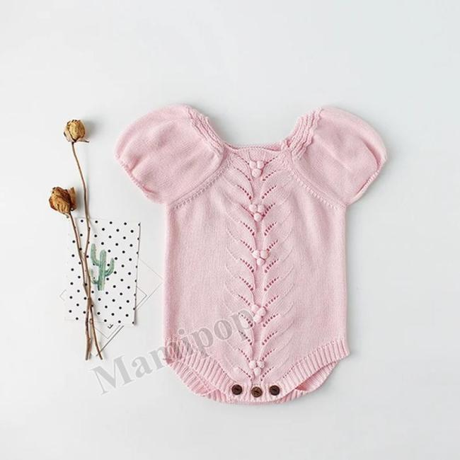 Baby's Knitting Wool One-piece Clothes Clothes