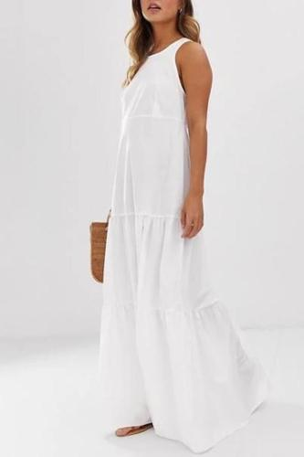 Vest Skin-Friendly Loose Maternity Dress