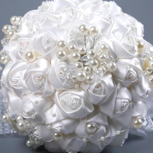 NEW Rose Flowers Bouquet with Eucalyptus Leaves Silk Artificial Flower for Wedding Decoration