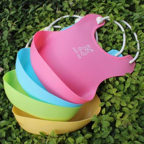 Baby Bibs&Burp Clothes Bib silicone Waterproof Kids Boys Girls Feeding Bibs Apron Saliva Towel Baby bibs for Babies