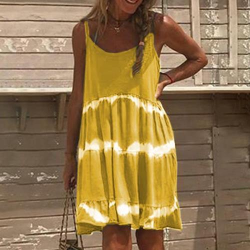 Maternity Tie-Dye Cami Dress