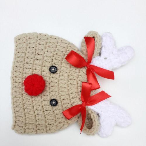 Cartoon Crochet Knitted Newborn Infant Baby Boy Girl Hats