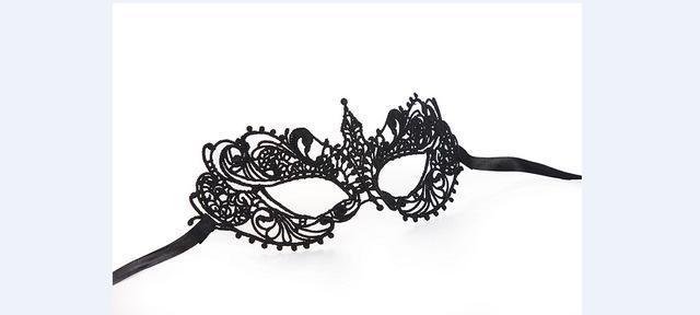 Sexy Women Black Lace Eye Face Mask