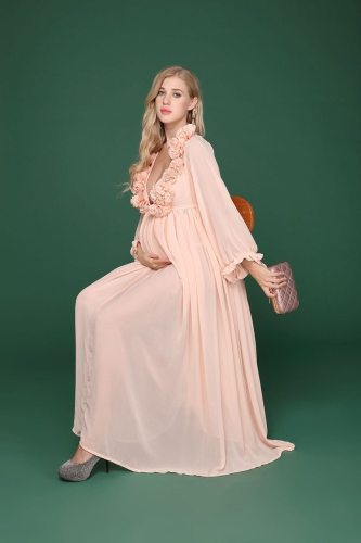 Maternity Maxi dresses for pregnant women pregnancy for photoshoot