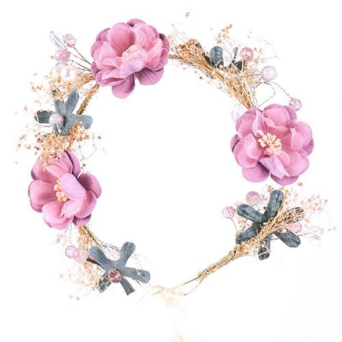Maternity Flower Crown Wreath Headband For Photography