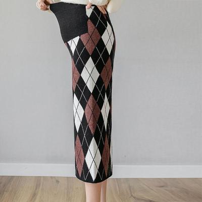 Maternity Fashion Colouring Hip Skirt