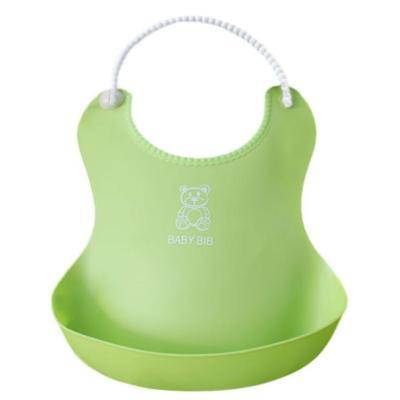 Baby Bibs&Burp Clothes Bib silicone Waterproof Kids Boys Girls Feeding Bibs Apron Saliva Towel Baby bibs for Babies