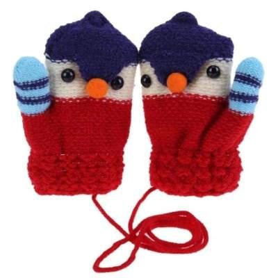 Winter Gloves Unisex Children Knitted Stretch (2-6 years)