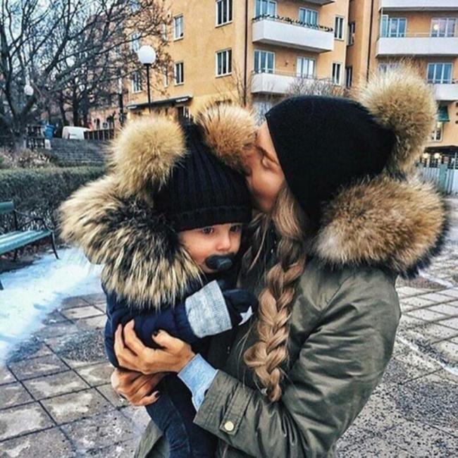Fashion Parent-child Caps Cute