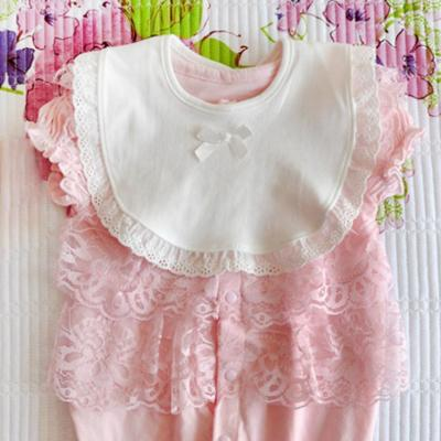 Sweet Baby Bibs&Burp Clothes Cotton Infant Kids Girls Bowknot Lace Cartoon Towel Baby Bibs for Babies Accessories