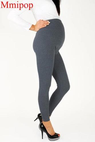 Pregnant Women Thin Cotton Pants High Waist Casual Trousers