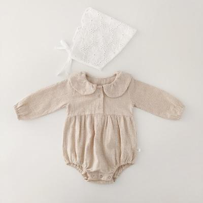 Girls Long sleeves cotton One-piece Clothes