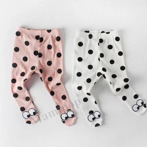 2020 Spring Baby Cute Polka Dot Eye Pantyhose