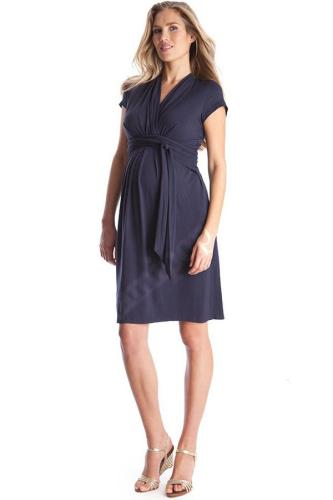 Short Sleeve V-neck Maternity Dress Pregnant Clothes Summer