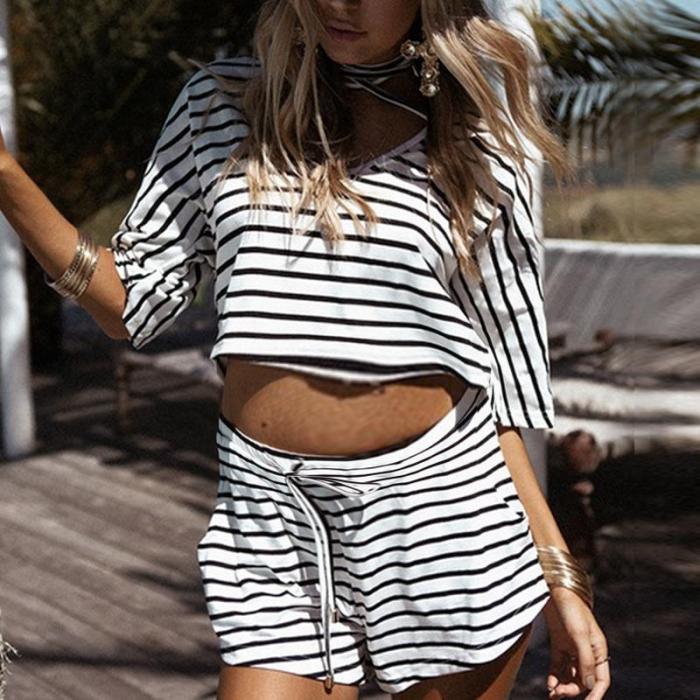 Maternity Striped Suit