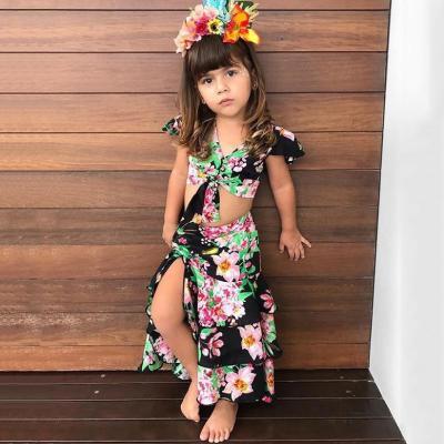 Mom Girl Botanical Prints Matching Outfits