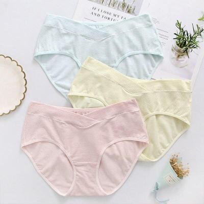 Large size maternity belly pregnant panties 2 PCS   low Waist Underwear pants