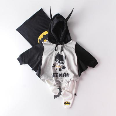 Baby Superhero League Baby Newborn Clothes Hooded Jumpsuit