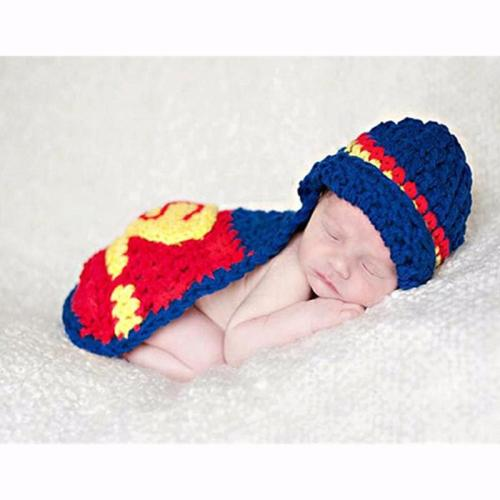 Hooked Superman newborn Clothes for boys latest super hero costume