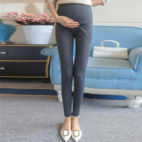 Maternity Fashion Solid Color Leggings