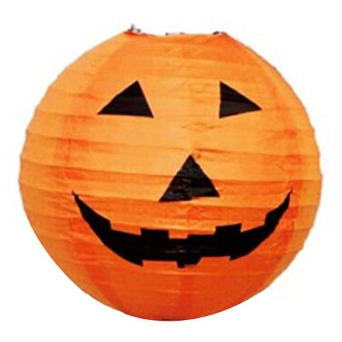 Halloween Pumpkin Lantern Decorated Prop