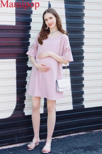 Maternity Dress Summer New Style Sleeve Fashion Dress