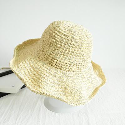 Women's Summer Sun Protection Plain Hat