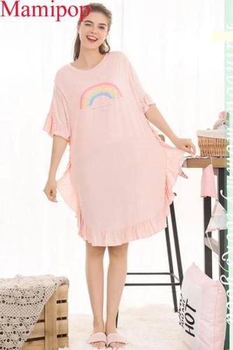 Maternity breastfeeding nursing nightgowns sleepwear