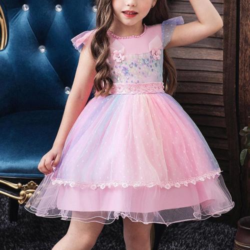 Princess Show Evening Dress With Unicorn