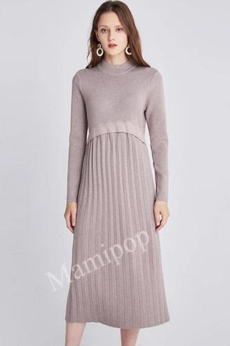 New Fashion Knitted Dress for Pregnant Women