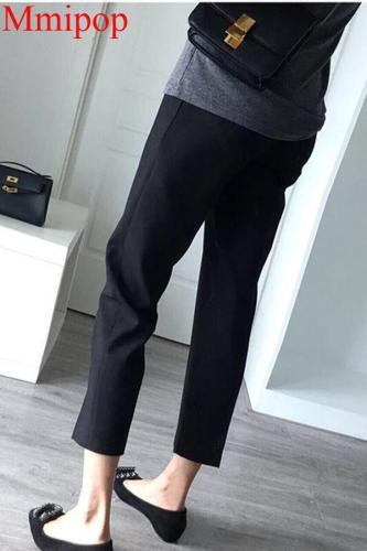 Straight Maternity Haren Pants For Pregnant Women