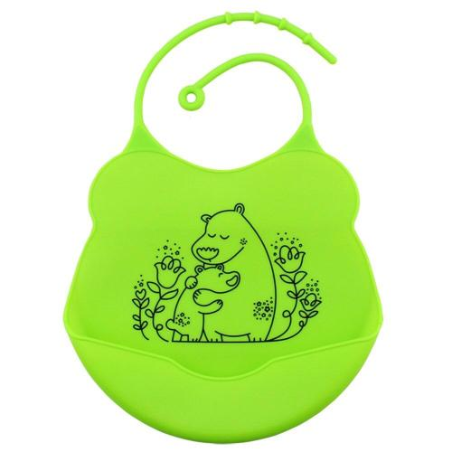 Fashion Baby Bibs Infants Kids cute Silicone Cartoon Pattern Bibs Baby Lunch Bibs Cute Waterproof
