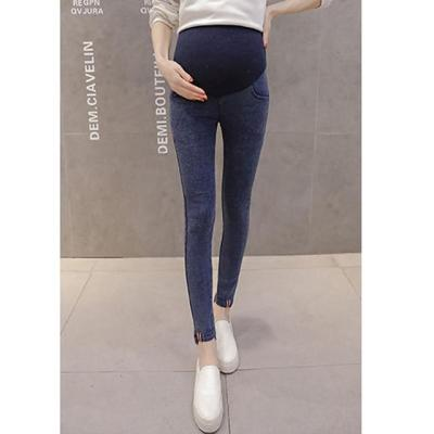Denim Maternity  Jeans Pants For Pregnant Women