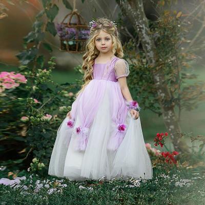 2020 new costumes girls princess dressSofia little girl birthday dress dress