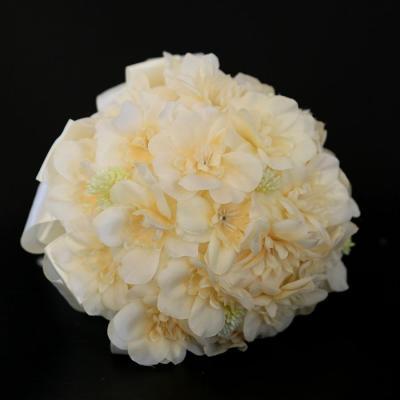 Big Artificial Rose Flowers Wedding Bride Bouquet Wreath Fake Rose Flowers DIY Home Flower Decorations