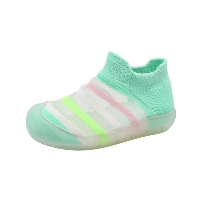 2020 New Toddler Infant Kids Sneakers Baby Girls Boys Summer Slip-On Striped Shoes Sneakers