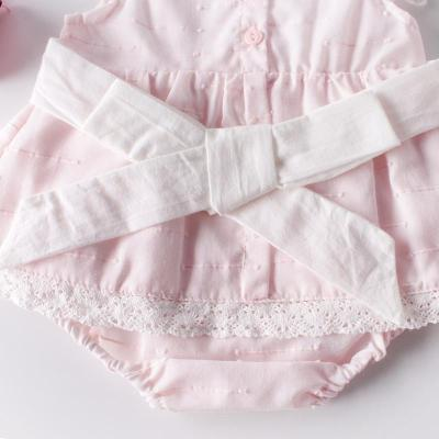 New Summer Baby  Dress Sweet Princess Lace Cotton Climbing  Dress