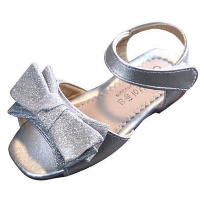 New 2020 Girls sandals Toddler Infant Baby Girls Bowknot Princess Casual Summer Shoes Sandals
