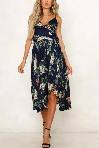 Maternity Printed Cami Maxi Dress