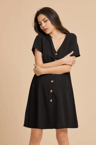 Maternity Wish-Breasted Dress