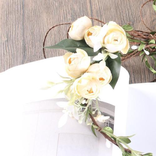 Bohemia beach artificial flower bride headband