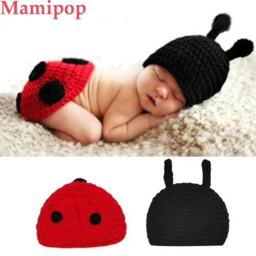 Baby Newborn Photography Props Accessories Fotografia Cute Ladybug