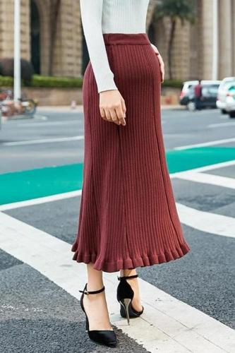 Maternity casual solid color long half-length group